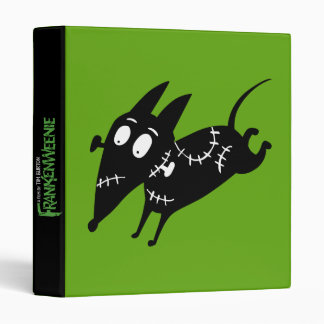Sparky Running Silhouette Binder