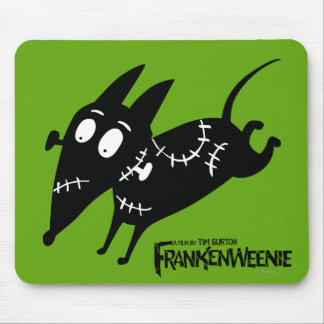 Sparky Running Silhouette Mouse Pads