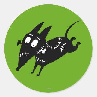 Sparky Running Silhouette Sticker