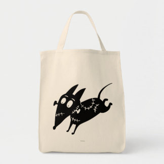 Sparky Running Silhouette Tote Bag