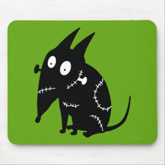 Sparky Sitting Silhouette Mousepad