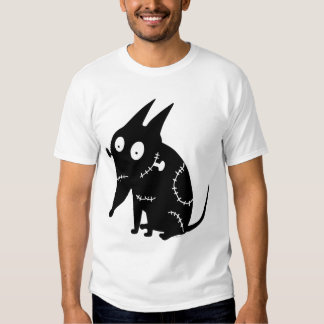 Sparky Sitting Silhouette Tee Shirt