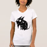 Sparky Sitting Silhouette Tee Shirts