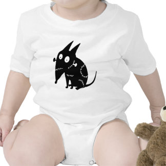 Sparky Sitting Silhouette Romper