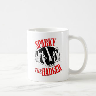 Sparky the Badger Coffee Mug