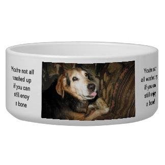 Sparky the Beagle Dog Food Bowl