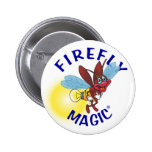 """Sparky"" the Firefly Button"