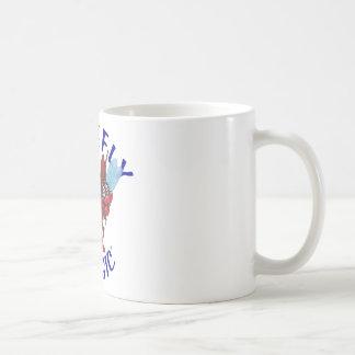 Sparky the Firefly Classic White Coffee Mug