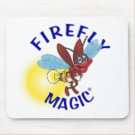 """""""Sparky"""" the Firefly Mousepad"""