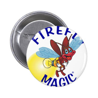 Sparky the Firefly Pinback Button