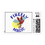 Sparky the Firefly Stamp