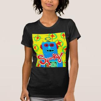 Sparky  the Robot Tee Shirt