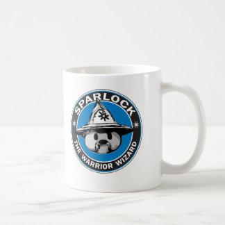 Sparlock el mago del guerrero tazas de café