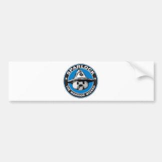 Sparlock the Warrior Wizard Bumper Sticker