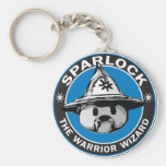 Sparlock the Warrior Wizard Key Chain
