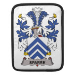 Sparre Family Crest iPad Sleeves