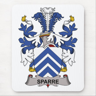Sparre Family Crest Mouse Pad