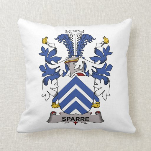 Sparre Family Crest Pillows