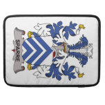 Sparre Family Crest Sleeve For MacBook Pro