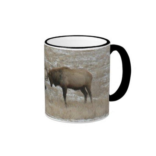 Sparring Elk Mugs