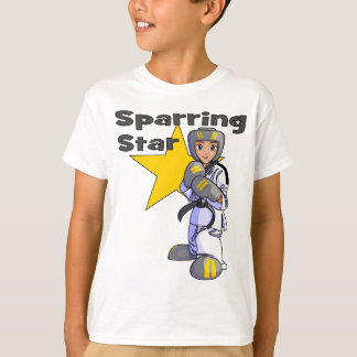 Sparring Star Taekwondo Black Belt T-Shirt