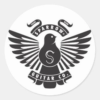 Sparrow Emblem Sticker