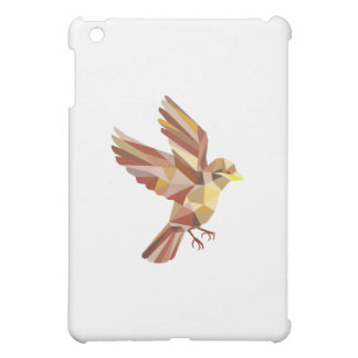 Sparrow Flying Low Polygon Cover For The iPad Mini