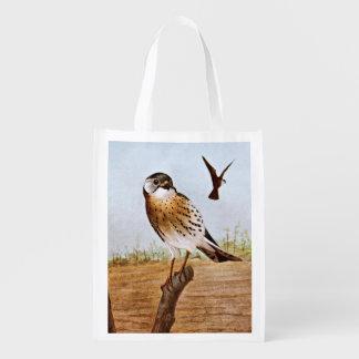 Sparrow Hawks Grocery Bag