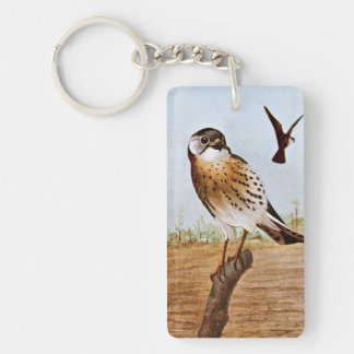 Sparrow Hawks Keychain