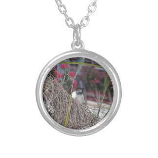 Sparrow in southern Spain Custom Necklace