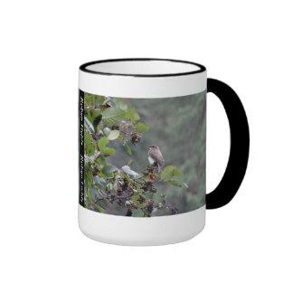 Sparrow in the Rain Mug