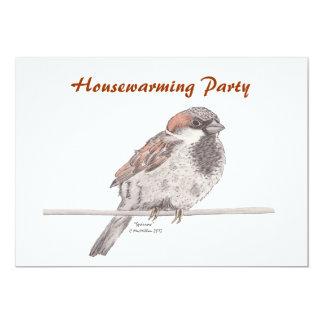 Sparrow Invitation