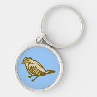 Sparrow Keychain