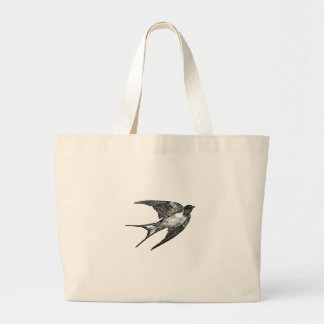 sparrow large tote bag