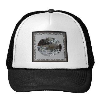Sparrow on the Beach on Unalaska Island Trucker Hats