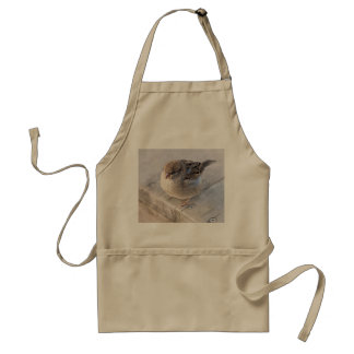 Sparrow - Overweight Adult Apron
