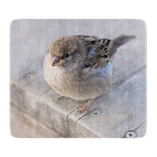 Sparrow - Overweight Cutting Board