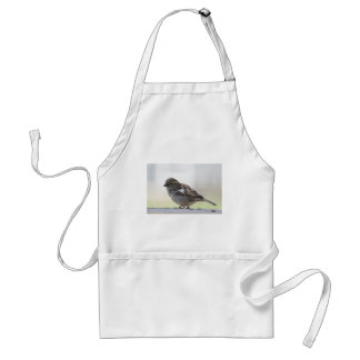 Sparrow photo adult apron