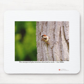 Sparrow Photography W/Truth Quote On Gifts & Tees Mouse Pad