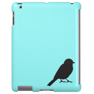 Sparrow silhouette chic blue swallow bird