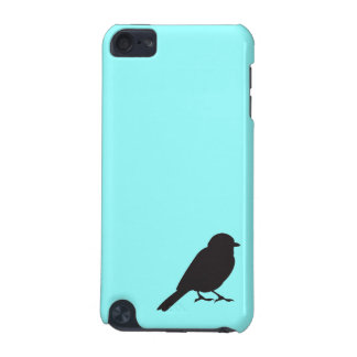 Sparrow silhouette chic blue swallow bird iPod touch (5th generation) cover