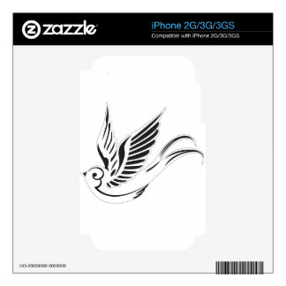 Sparrow iPhone 3G Decal