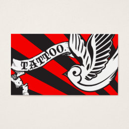 Tattoo Shop Business Cards Templates Zazzle - Tattoo business card templates