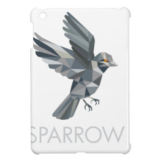 Sparrow Text Low Polygon Cover For The iPad Mini