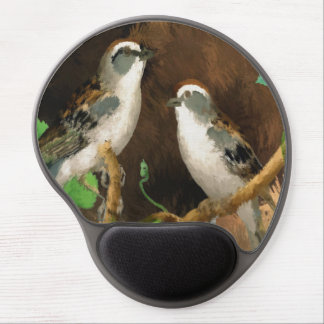 Sparrows Gel Mouse Pad