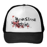 Sparrows Nest Red Mesh Hats