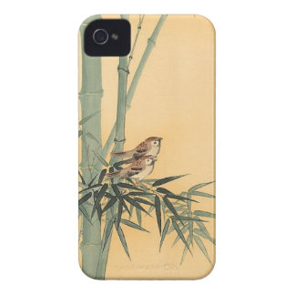 Sparrows on bamboo tree by Ohara Koson Case-Mate Blackberry Case