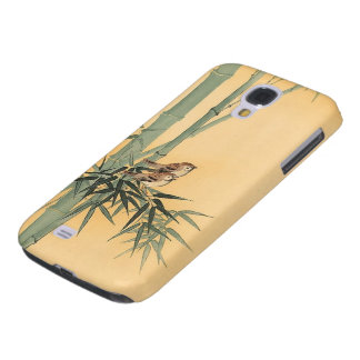 Sparrows on bamboo tree by Ohara Koson Samsung S4 Case