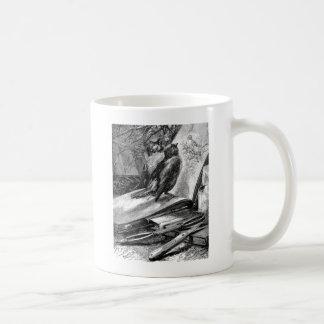 Sparrows on Sketchbook Coffee Mug