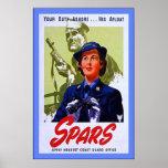 SPARS~Vintage World War 2 Print